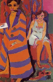 kirchner_self-portrait_with_model